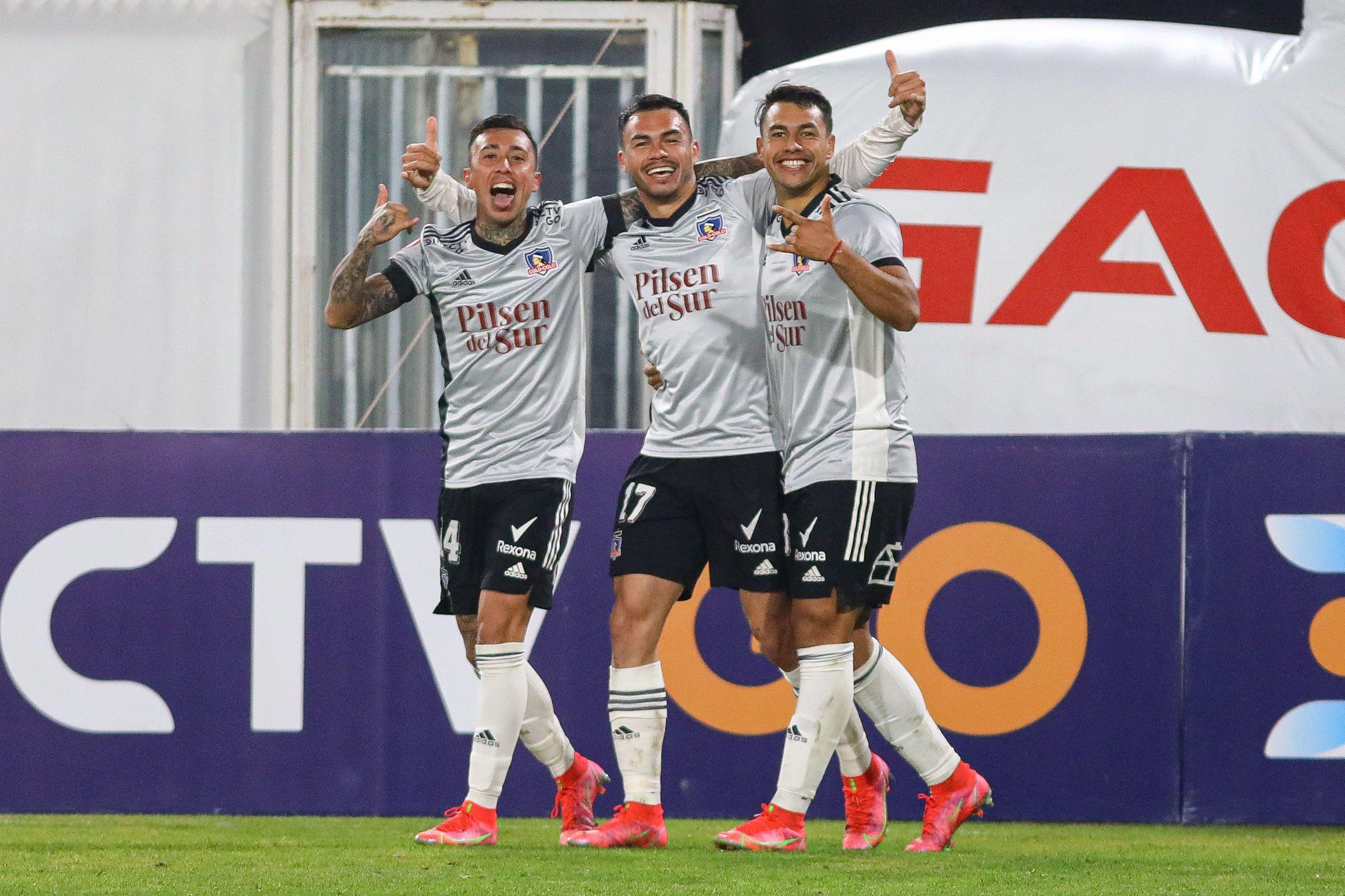 Colo Colo saca la tarea con susto ante Palestino y se instala en semifinales de la Copa Chile - La Tercera