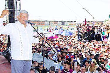 Andrés Manuel López Obrador continua su cam (41589503)