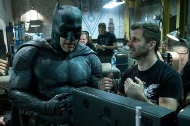 Ben Affleck reaccionó al anuncio del Snyder Cut de Justice League