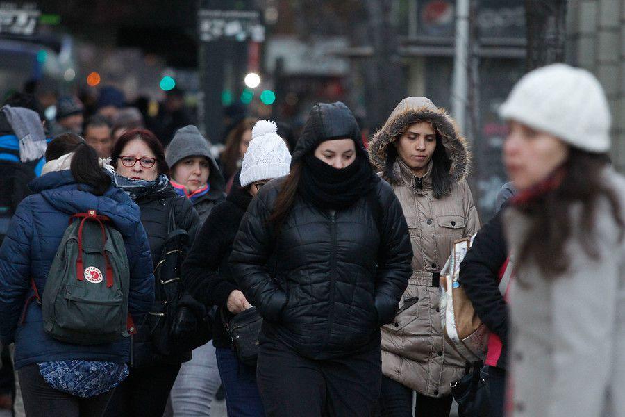 Frío en Santiago