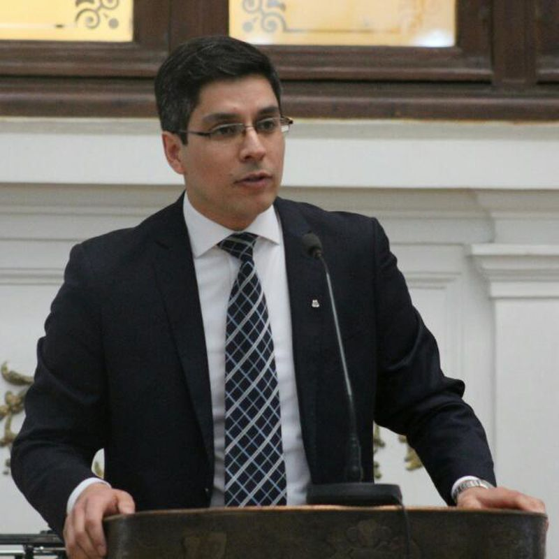 Francisco Conejeros, director del Colegio Virtual Betel.