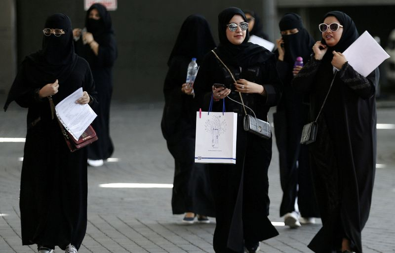 Arabia Saudita mujeres