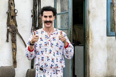 Una polémica que llegó hasta la Casa Blanca y dardos al manejo de la pandemia: cómo es el explosivo regreso de Borat