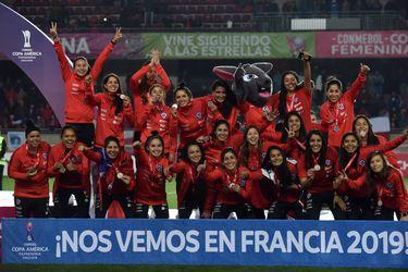 Premiación Copa América Femenina