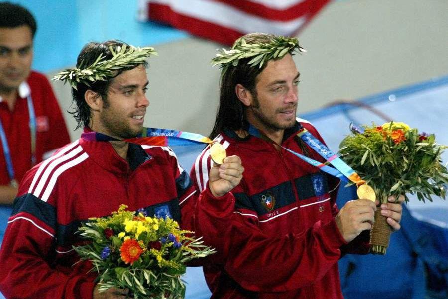 Nicolás Massu y Fernando Gonzalez disputaron la final del dobles cont