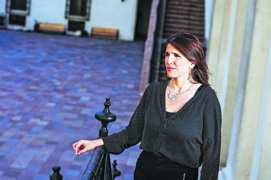 Paula Narvaez vocera de gobierno.