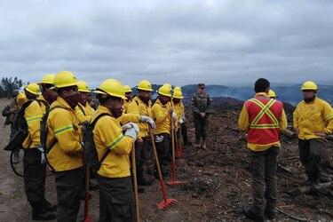 Ejército combatiendo desastres naturales