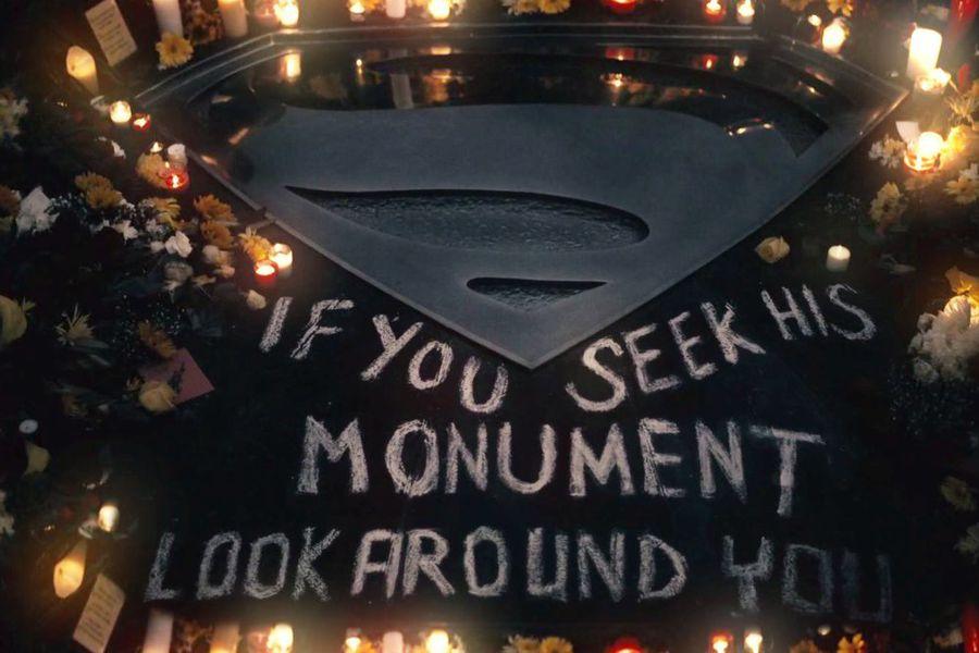 Superman monument