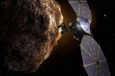 Lucy, la nueva misión que la Nasa lanza este sábado hacia los asteroides troyanos de Júpiter para comprender cómo era el sistema solar primitivo