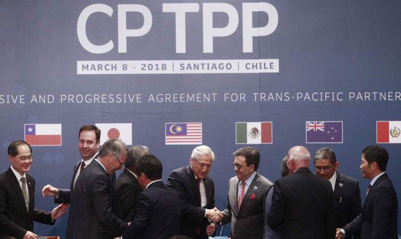 Firma del tratado CP TPP