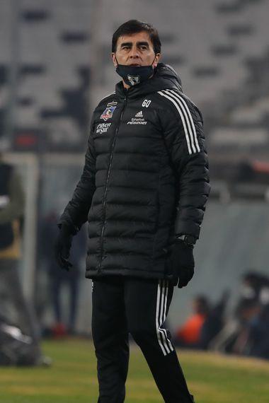 Gustavo Quinteros, durante el duelo entre Colo Colo y Deportes La Serena, por Copa Chile. FOTO: Agencia Uno.