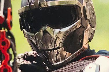 Taskmaster se abre paso en las nuevas fotos de Black Widow