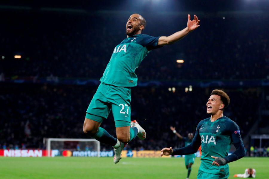 Lucas Moura   Ajax vs Tottenham