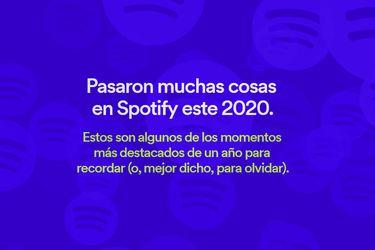 Hasta el recuento 2020 de Spotify ahora tiene stories