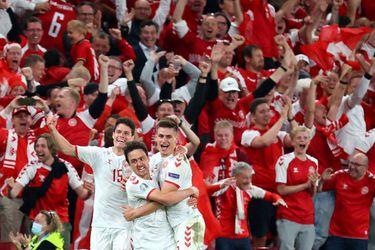 Dinamarca consiguió la clasificación a los octavos de final de la Eurocopa con una goleada sobre Rusia.