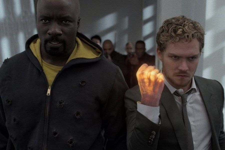 Iron Fist Luke Cage