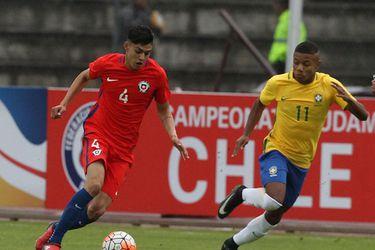 Chile, Brasil, Sub 20
