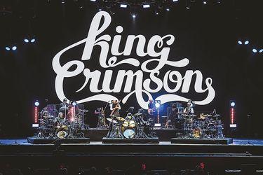 Matemático y sin interacciones: el show de King Crimson