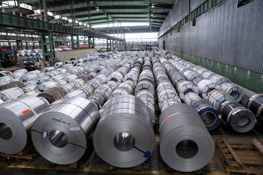 Salzgitter AG Steel Plant Tour Ahead of Earnings