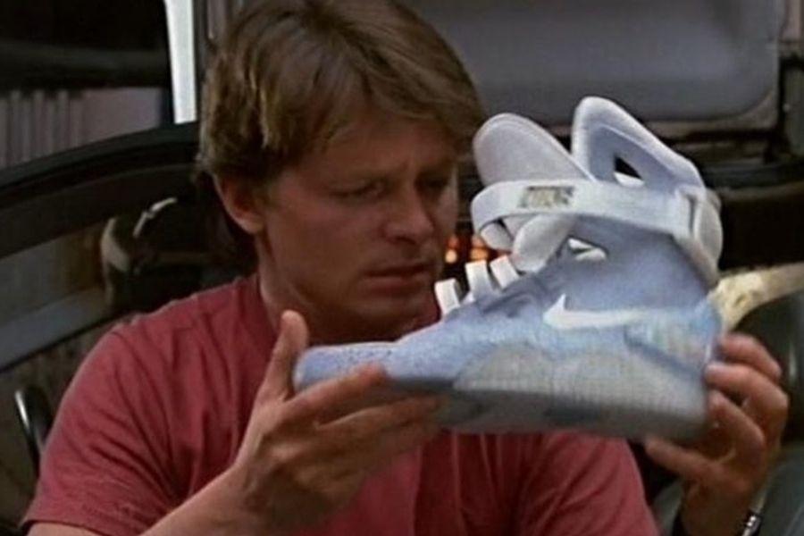 volver al futuro 2 zapatillas