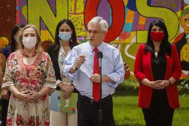 """Piñera anuncia fin del Sename y creación del Servicio de Protección de la Niñez: """"Es un gran paso adelante para nuestros niños"""""""