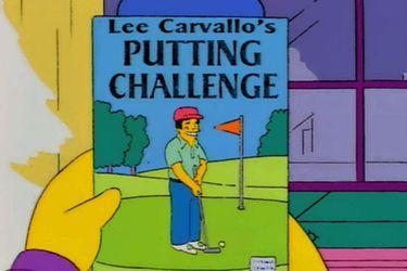 """Ahora puedes """"disfrutar"""" el pésimo juego de golf que apareció en Los Simpson"""