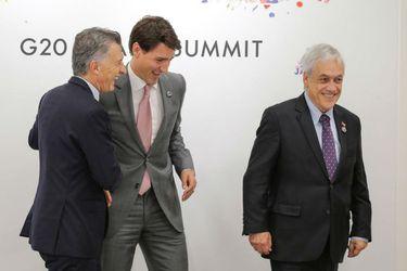 """Piñera aborda con presidentes del Grupo de Lima situación de Venezuela y afirma que los flujos migratorios """"están desestabilizando a la región"""""""