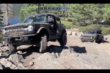 El Bronco se metió en territorio Wrangler y ahora es literal: el 4x4 de Ford se anima en la Rubicon Trail