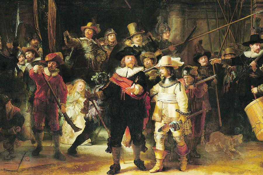 Imagen Rembrandt van Rijn Schutters van wi (44645850)