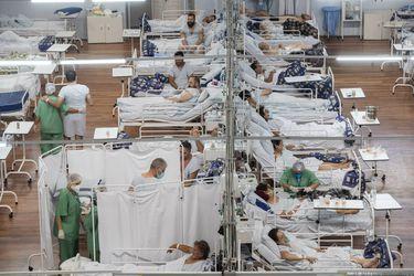 Brasil supera 587.000 muertes y 21 millones de casos confirmados de coronavirus