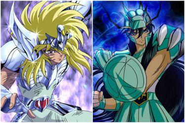 Cinco grandes similitudes entre Hyoga y Shiryu
