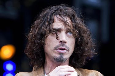 US musician Chris Cornell, known from th
