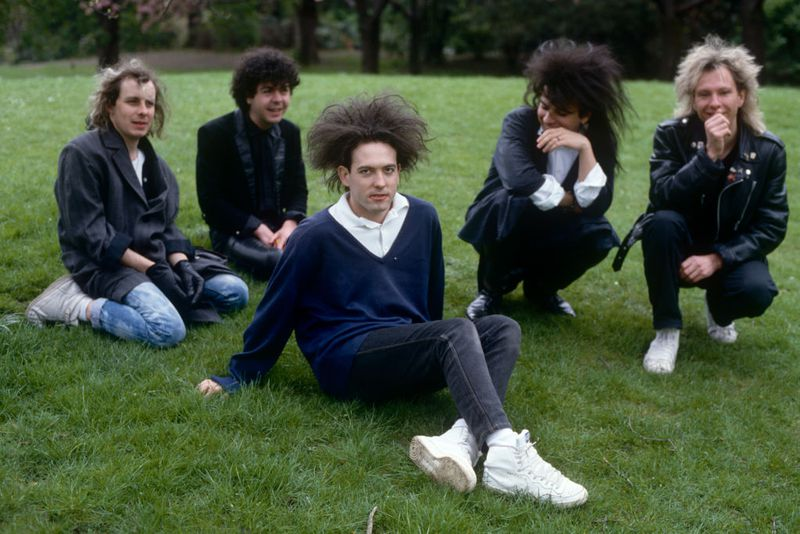 """Rendez-Vous Avec Le Groupe New Wave """"The Cure"""" A Londres"""
