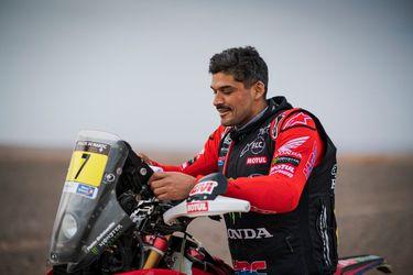 Pablo Quintanilla saca adelante una dura etapa y se mantiene en el podio del Rally de Marruecos