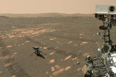 Nasa prepara el vuelo más ambicioso hecho por el hombre en Marte: helicóptero Ingenuity hará nueva y más arriesgada misión en el planeta rojo