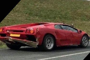"""""""Cuando lo encontremos al tipo este, ¿qué condena le toca?"""": presentador de Top Gear estrella un Lamborghini Diablo"""