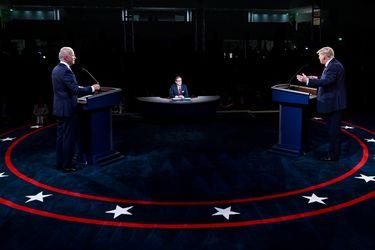 En medio del caos y los insultos del primer debate presidencial en EE.UU.: ¿Ganó Trump o Biden?