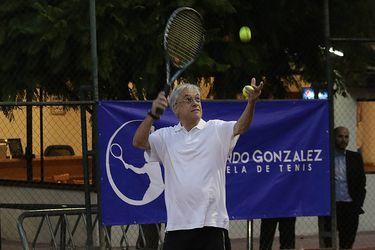 Con tenis en la madrugada: Así celebró Piñera y el Gobierno el Día del Deporte