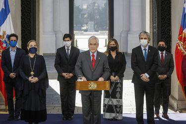 Presidente Piñera convoca a los ministros del comité político a una reunión en La Moneda tras nuevo revés en la Cámara por proyecto de retiro de fondos AFP
