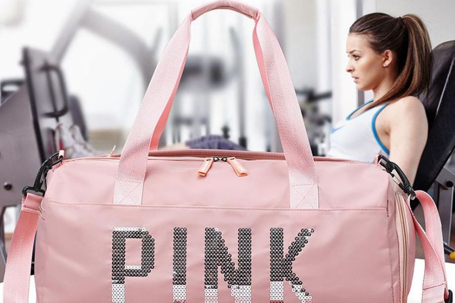 bolso rosado