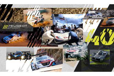 Peugeot Sport celebra 40 años al calor de las competencias deportivas