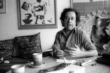 Enrique Lihn en 1983 por Marcelo Montecino