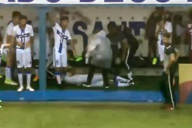 Brasil | Jugador se desmaya tras impacto de rayo en pleno partido de fútbol