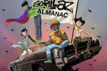 Gorillaz presentará su propio cómic en octubre