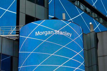 Morgan Stanley fue la acción que tuvo el mayor salto positivo en la bolsa en los últimos siete años