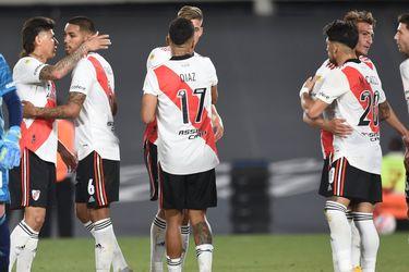 Con una lujosa ruleta, Paulo Díaz se luce en la victoria de River sobre Argentinos Juniors
