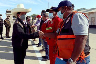 Sismo deja unos 41 heridos y daños materiales en el norte de Perú