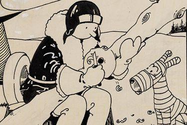 La portada del primer cómic deTintin se subasta en $1 millón de dólares