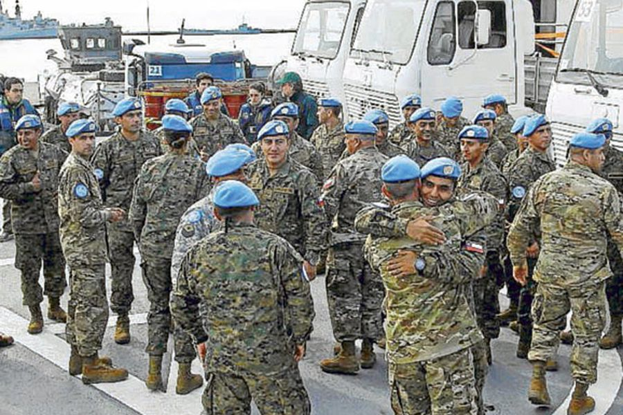 El último viaje del batallón chileno en Haití - La Tercera