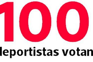 Así votaron los 100 encuestados de La Tercera